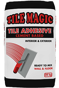 Tile Magic Wall And Floor Cement Based Tile Adhesive