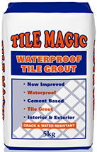 Tile Magic Waterproof Grout