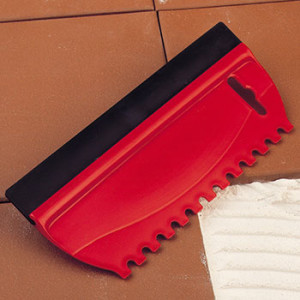 Tile dual squeegee